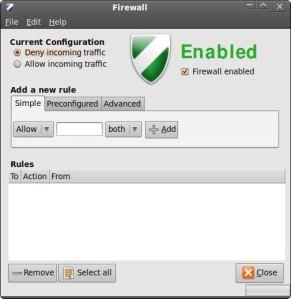 Cấu hình Firewall